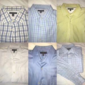 BR Dress Shirts (Lot of 6)
